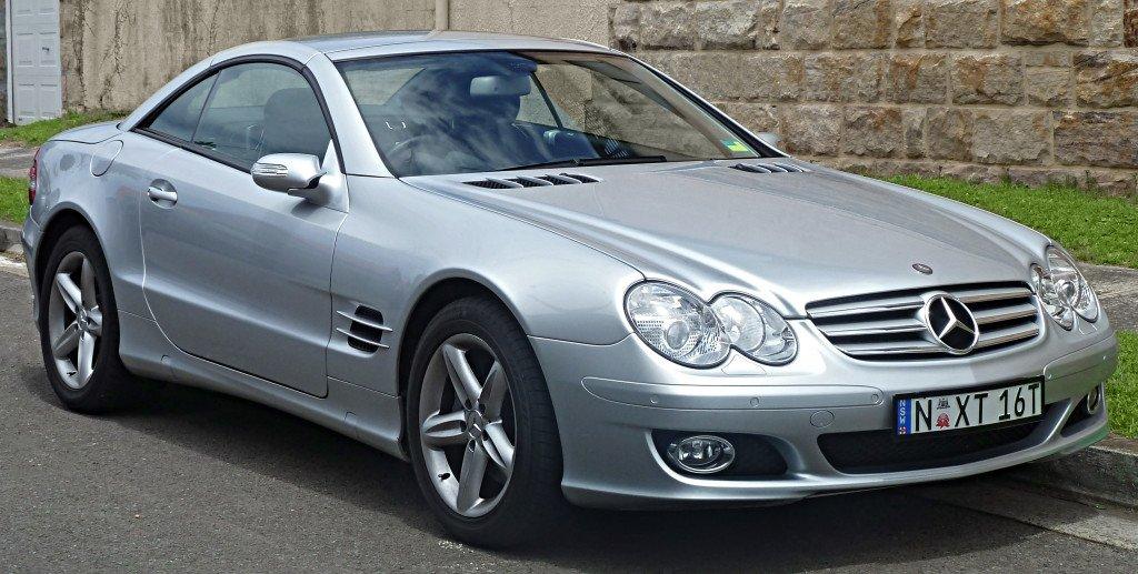 2006-2008 Mercedes-Benz SL 350-3