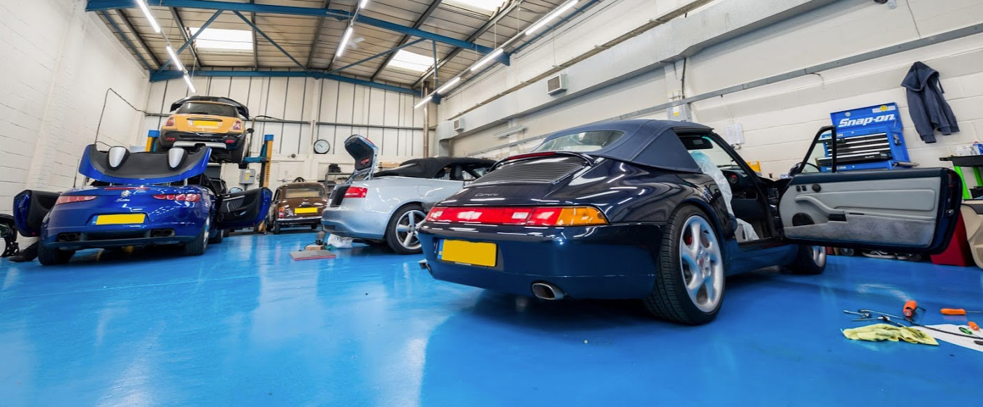 Contact Cayman Auto Services Convertible Roof Repair Surrey