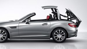 how to stop Mercedes SLK R172 roof leaks